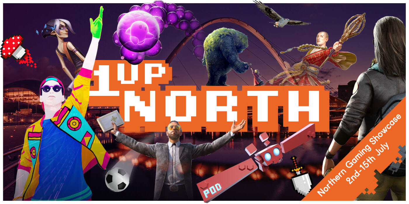 1up North exhibitors banner image