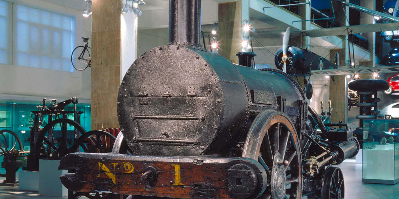 Stephenson's Rocket The Science Museum