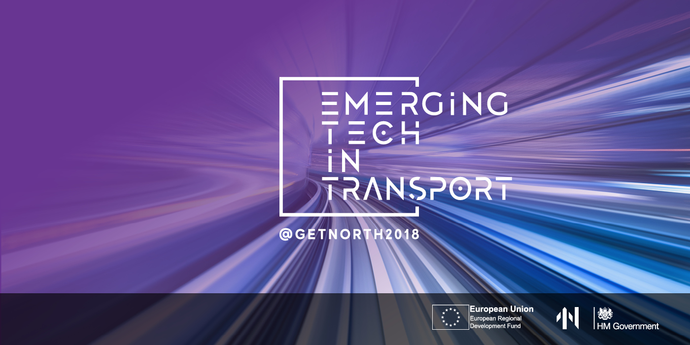 Emerging Tech in Transport – networking event banner image